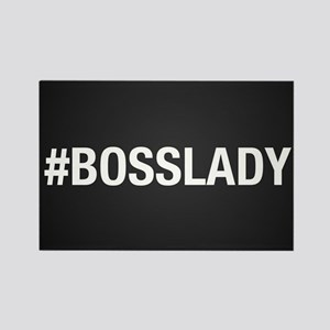 Hashtag Bosslady Rectangle Magnet