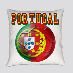 Portugal Soccer Futebol Everyday Pillow