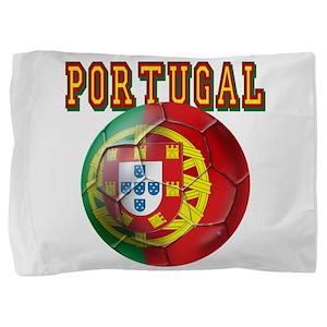 Portugal Soccer Futebol Pillow Sham