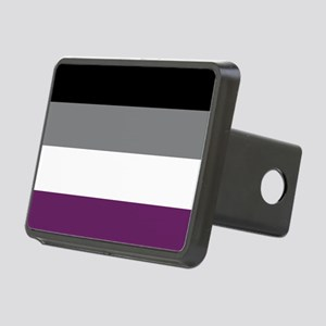 Asexuality Flag Rectangular Hitch Cover