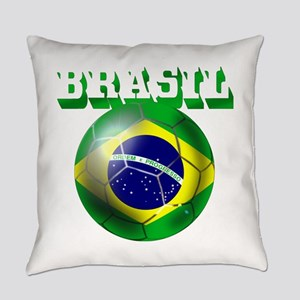 Brasil Football Everyday Pillow
