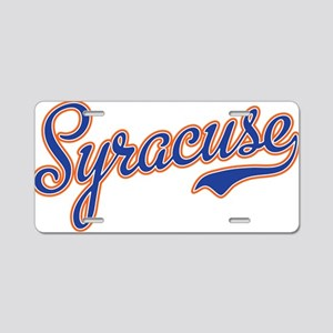 Syracuse -2 Aluminum License Plate