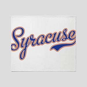 Syracuse -2 Throw Blanket