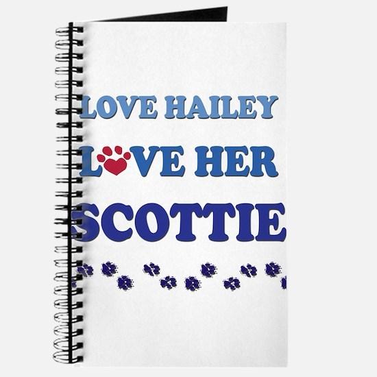 Love Hailey Love Her Scottie Journal