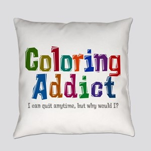 Coloring Addict Everyday Pillow