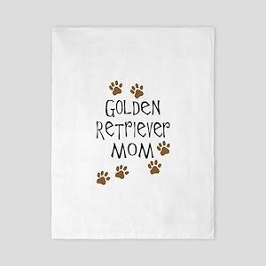 golden retriever mom Twin Duvet