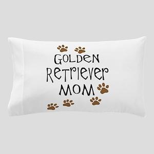 golden retriever mom Pillow Case
