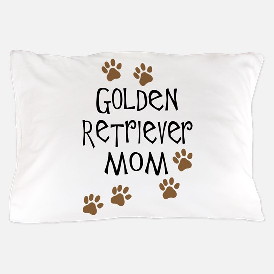 golden retriever mom.png Pillow Case