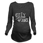 Gilly Juice Long Sleeve Maternity T-Shirt