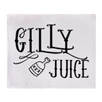 Gilly Juice Throw Blanket