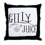 Gilly Juice Throw Pillow