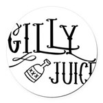 Gilly Juice Round Car Magnet