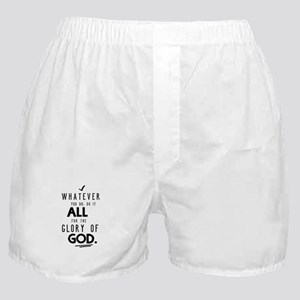 Do it All for the Glory of God Boxer Shorts