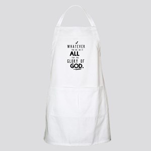 Do it All for the Glory of God Apron