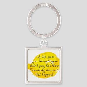 If Life Gives You Lemons... Keychains