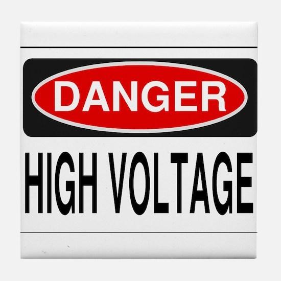 High Voltage Tile Coaster