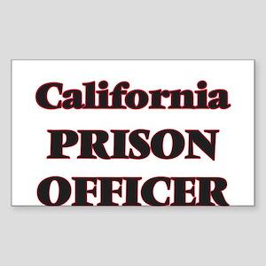 California Prison Officer Sticker