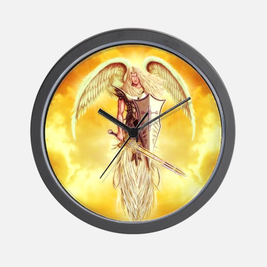 angel michael Wall Clock