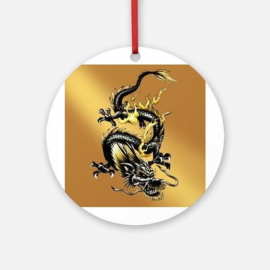 Dragon Round Ornament