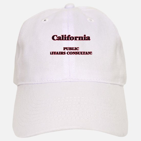 California Public Affairs Consultant Baseball Baseball Cap