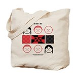 Baby Figures Tote Bag