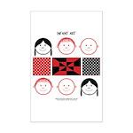 Baby Figures Mini Poster Print