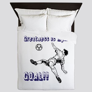 Greatness... GOAL! Queen Duvet