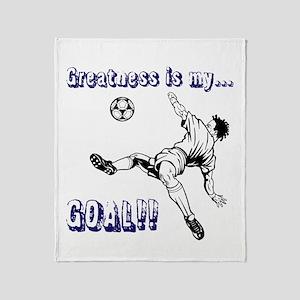 Greatness... GOAL! Throw Blanket