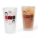 Baby Figures Drinking Glass