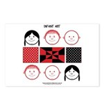 Baby Figures Postcards (Package of 8)