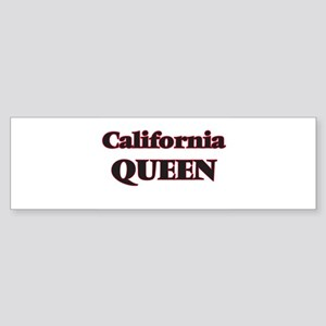 California Queen Bumper Sticker