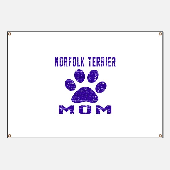 Norfolk Terrier mom designs Banner