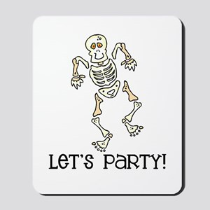 Dancing Skeleton Mousepad