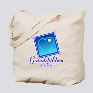 Customize Grandchildren Tote Bag
