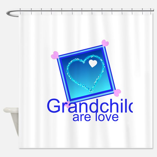 Customize Grandchildren Shower Curtain