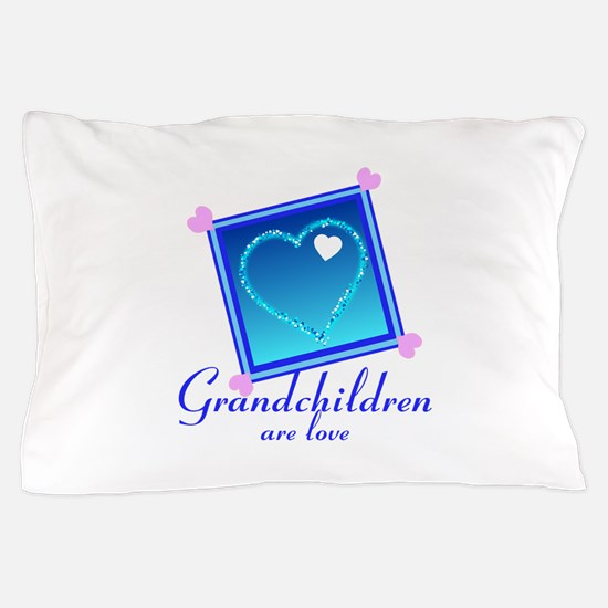 Customize Grandchildren Pillow Case