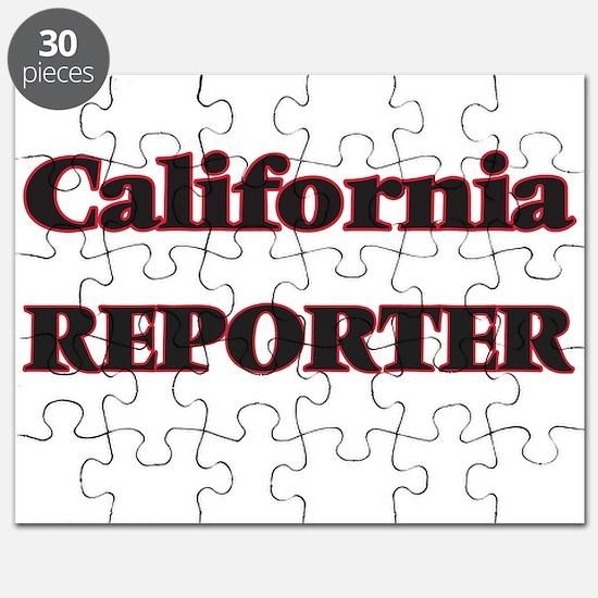 California Reporter Puzzle