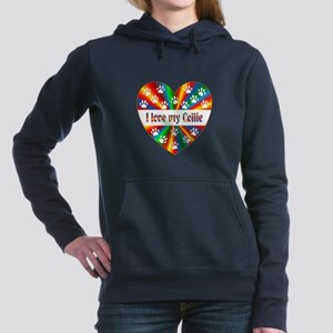 Collie Love Women's Hooded Sweatshirt