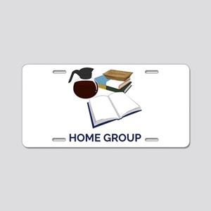 Home Group Aluminum License Plate