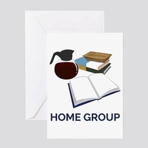 Home Group Card Greeting Cards