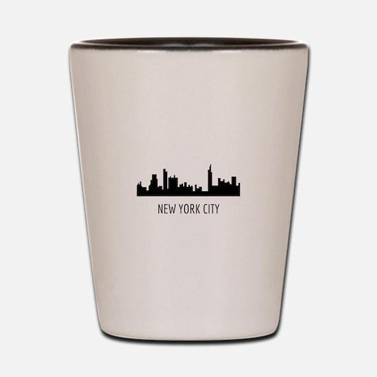 Cute Gotham city Shot Glass