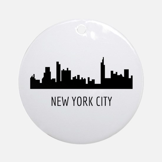 Cute Nyc Round Ornament