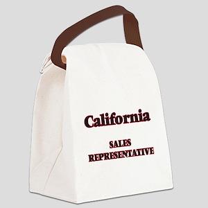 California Sales Representative Canvas Lunch Bag