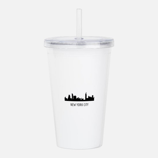 Cute Bronx Acrylic Double-wall Tumbler