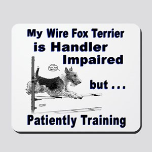Wire Fox Terrier Agility Mousepad
