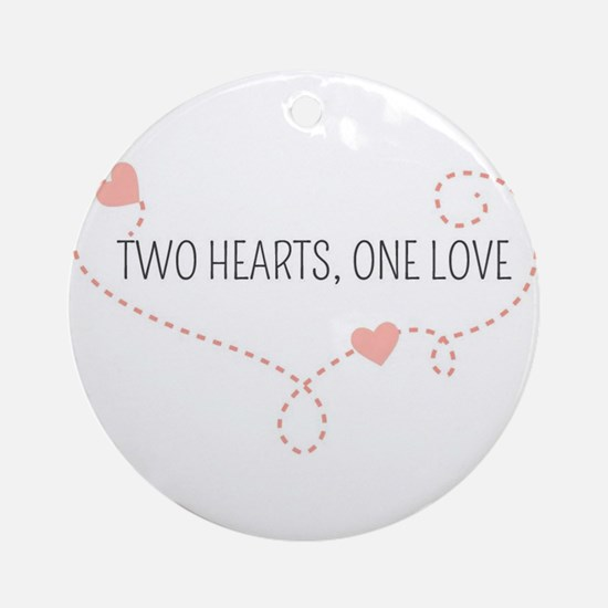 Funny Marriage equality Round Ornament