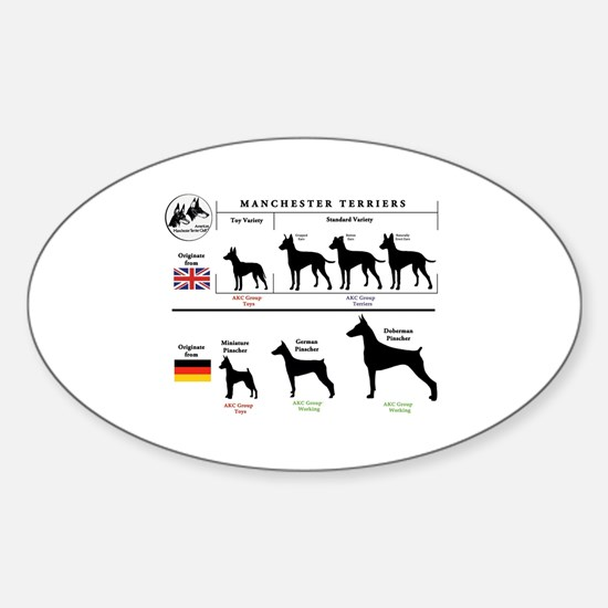 Groups Graph Sticker (Oval)