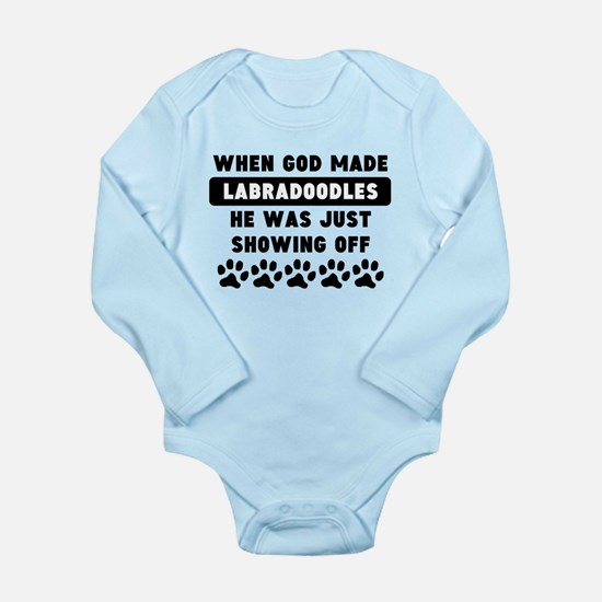 When God Made Labradoodles Body Suit