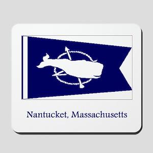 Nantucket MA Flag Mousepad