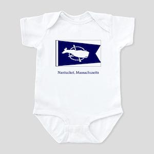 Nantucket MA Flag Infant Bodysuit